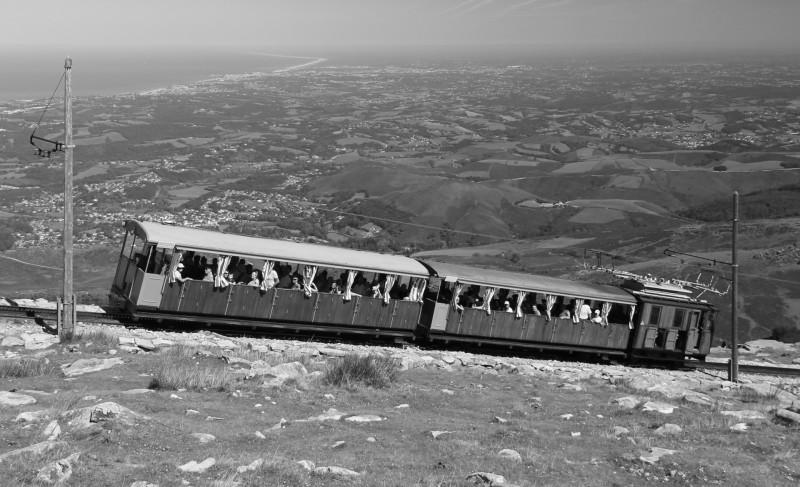 La Rhune, train