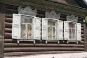 Gislaine Devillard - Fenêtre d'Isba - Russie 1